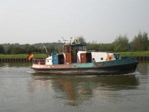 Fahren Sie mit Ihrem Sportbootführerschein auf dem Datteln-Hamm-Kanal.