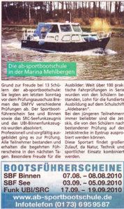 Die Harke am Sonntag 08/2010