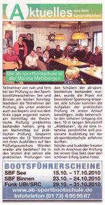 Die Harke am Sonntag 10/2010
