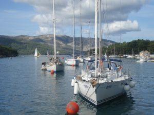 Fahren Sie mit Ihrem Sportbootführerschein nach Kroatien.
