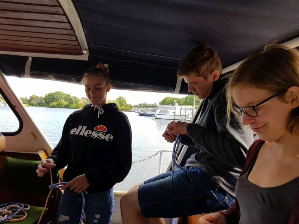 Unsere zufriedenen Kunden u.a. aus den Städten Hannover, Osnabrück, Bielefeld, Hildesheim, Dörverden und Syke machen Ihren Sportbootführerschein am Gardasee.