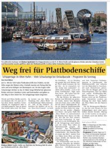 Nordseezeitung vom 18.08.2018
